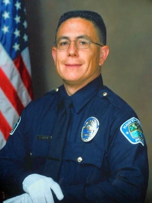 Hawthorne, California police motorcycle officer Andrew Garton. He was killed in a motorcycle collision caused primarily by El Segundo police sergeant Rex Jay Fowler on May 26, 2011 at about 12:40 p.m. in Torrance, California.